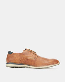 Utopia Casual Lace up Shoes Tan