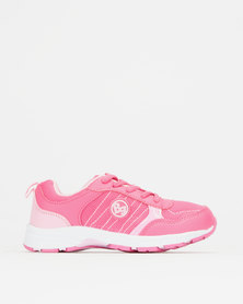 Bubblegummers Girls Sneakers Bright Pink