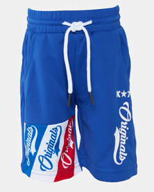 K-Star 7 Ramos Boys Shorts Royal