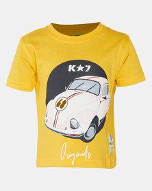 K-Star 7 Volla Boys Fashion Tee Yellow