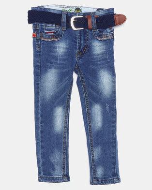 K-Star 7 Envy Boys Jeans Indigo