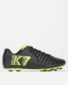 K-Star 7 Boys Brazil Soccer Boots Black/Yellow