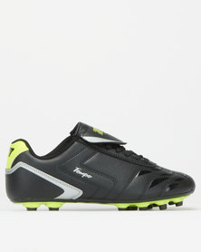 K-Star 7 Boys Tempo Soccer Boots Black/Yellow