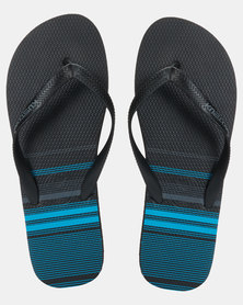 Kustom Blend Base Sandals Blue Stripes