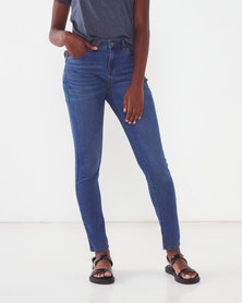 Jeep Slim Leg Stretch Denim Jeans Indigo