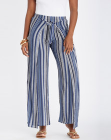 Contempo Stripe Layer Pants Multi