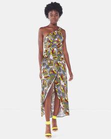 Legit Ethnic Infinity Maxi Dress Multi