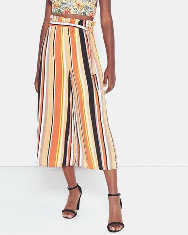 Legit Stripe Culottes Multi