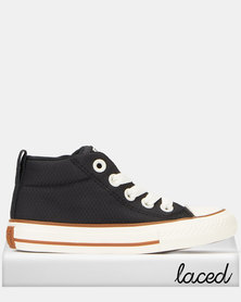 Converse Chuck Taylor All Star Street Mid Sneakers Black