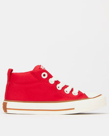 Converse Chuck Taylor All Star Street Mid Red
