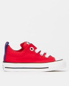 Converse Infant Chuck Taylor All Star Street Mid Red