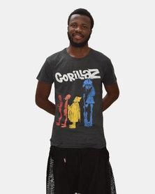 SKA Gorillaz T-Shirt Black