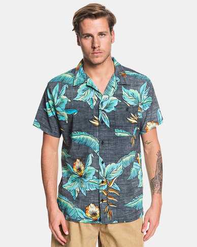 Quiksilver Millers Camp Shirt Black