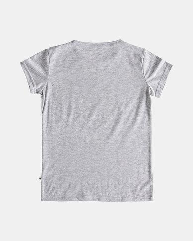Roxy Girls So Amazing T-Shirt Grey