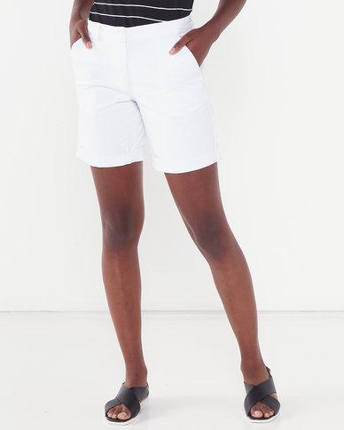 Polo Lds Fsh Basic Walk Shorts White