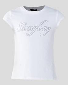 Sissy Boy Tween Basic T-shirt Off White