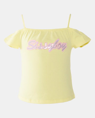 Sissy Boy Tween T-shirt Pastel Yellow