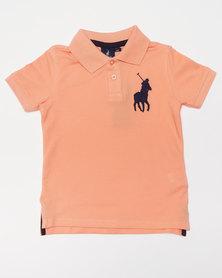 Polo Boys Austin SS Golfer Peach