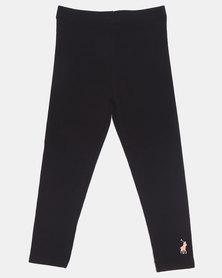 Polo Girls Victoria Classic Leggings Black