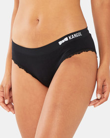 Kangol 3 Pack Seamless Briefs Black/White/Navy