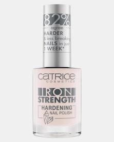Catrice 02 Iron Strength Hardening Nail Polish