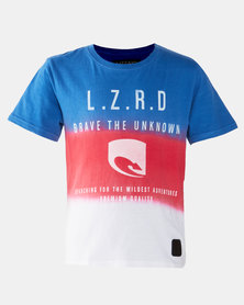 Lizzard Teen Boys Wendell Short Sleeve Tee Multi