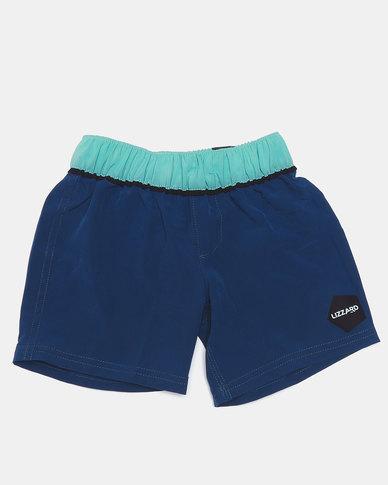 Lizzard Pre-Boys Cono-Etots Shorts Blue