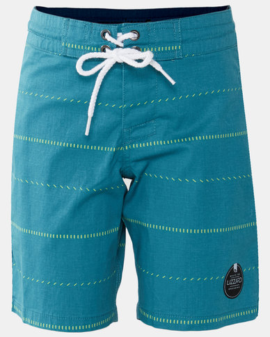 Lizzard Teen Boy Setter Shorts Blue