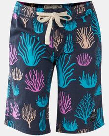 Lizzard Teen Boy Rattler Shorts Blue