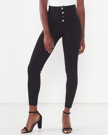 Sissy Boy High Rise Skinny Jeans Black