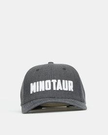 Minotaur Fitness Curved Peak Cap Grey
