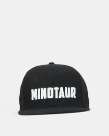 Minotaur Fitness Snapback Black Cap