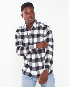 Levi's ® Check Classic Worker Shirt Black & White
