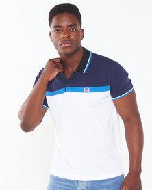 Levi's ® Sportswear Polo  White & Blue