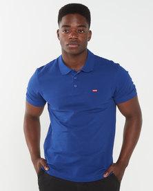 Levi's ® Housemark Polo Shirt Blue