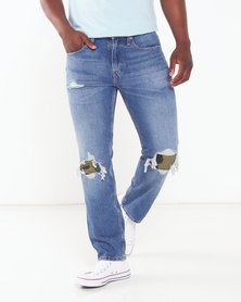 Levi's ® 502™ Collins Regular Taper Fit Jeans Blue