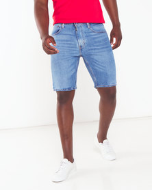 Levi's ® 502™ Taper Billy Shorts Blue
