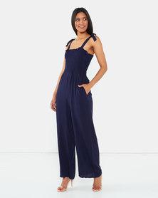 I Am Woman Emily Jumpsuit Blue