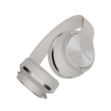 Doqaus V5 2 in 1 Bluetooth Wireless Headphone and Speaker - Grey