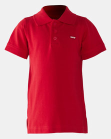 Levi's Boys James Polo Tee Red