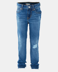 Levi's ® Girls 710 Bakersfield Super Skinny Jeans Blue