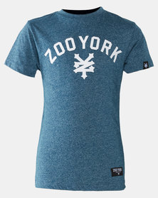 Zoo York Boys Jasper Tee  Blue