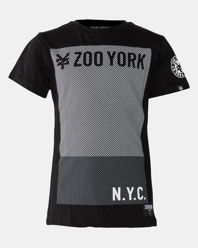 Zoo York Boys Basic Tee Black