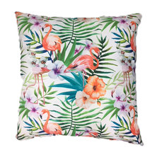 Amore Home Tropical Flamingo Scatter Cushion Cover with Inner