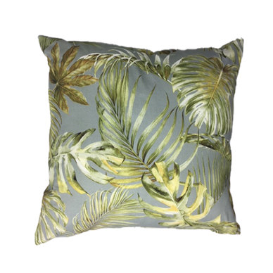 Amore Home Jungle Grey Scatter Cushion Cover with Inner