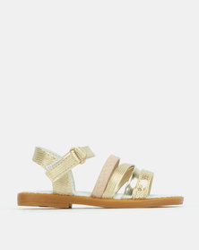Rock & Co Tonia Sandals Gold