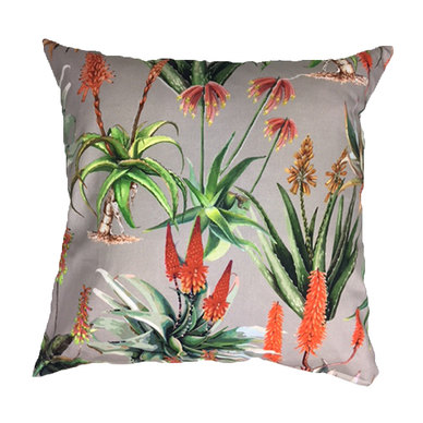 Amore Home Aloes Beige Scatter Cushion Cover with Inner