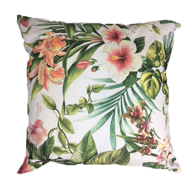 Amore Home Pink Floral Scatter Cushion Cover with Inner
