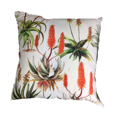 Amore Home Aloes Cream Scatter Cushions with Inner