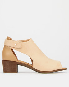 Franco Gemelli Pearl Ladies Boots Nude